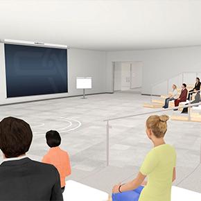 Beim ersten Online-Kongress von DOMUS können sich die Teilnehmer zwischen unterschiedlichen Vorträgen in verschiedenen Seminarräumen entscheiden.