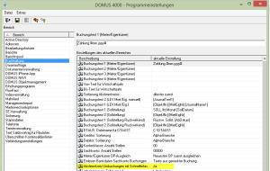 DOMUS4000_Programmeinstellungen