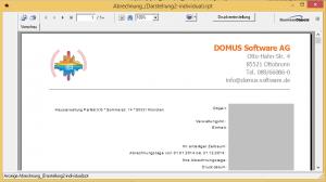 DOMUS_ 4000_Textbaustein_in_Abrechnung