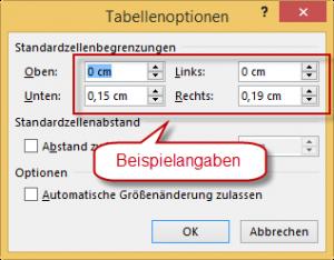 DOMUS_4000_Tabellenoptionen