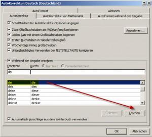 D1000_Autokorrektureintrag