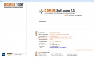 DOMUS 1000 Hauptmaske - Arbeitsgruppe