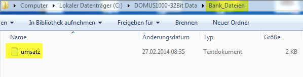 DOMUS_1000_Bankdaten