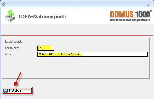DOMUS_1000_Datei_erstellen