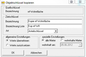 DOMUS_4000_Objektschlüssel kopieren